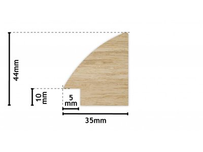 Estepona - spiegel - hout