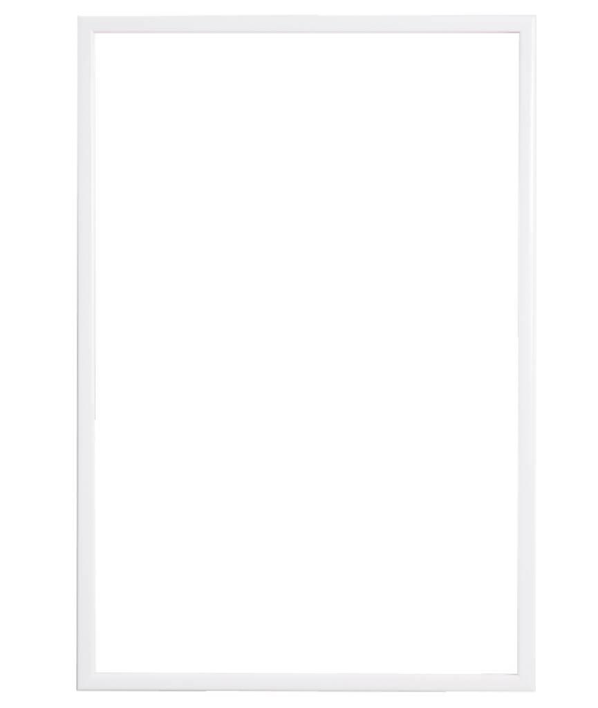 Levie - Betaalbare Moderne  Lijst - Simpel Wit
