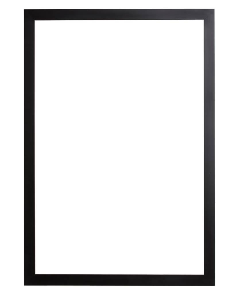 New york strakke moderne designlijst zwart gekleurd - Moderne bilderrahmen ...
