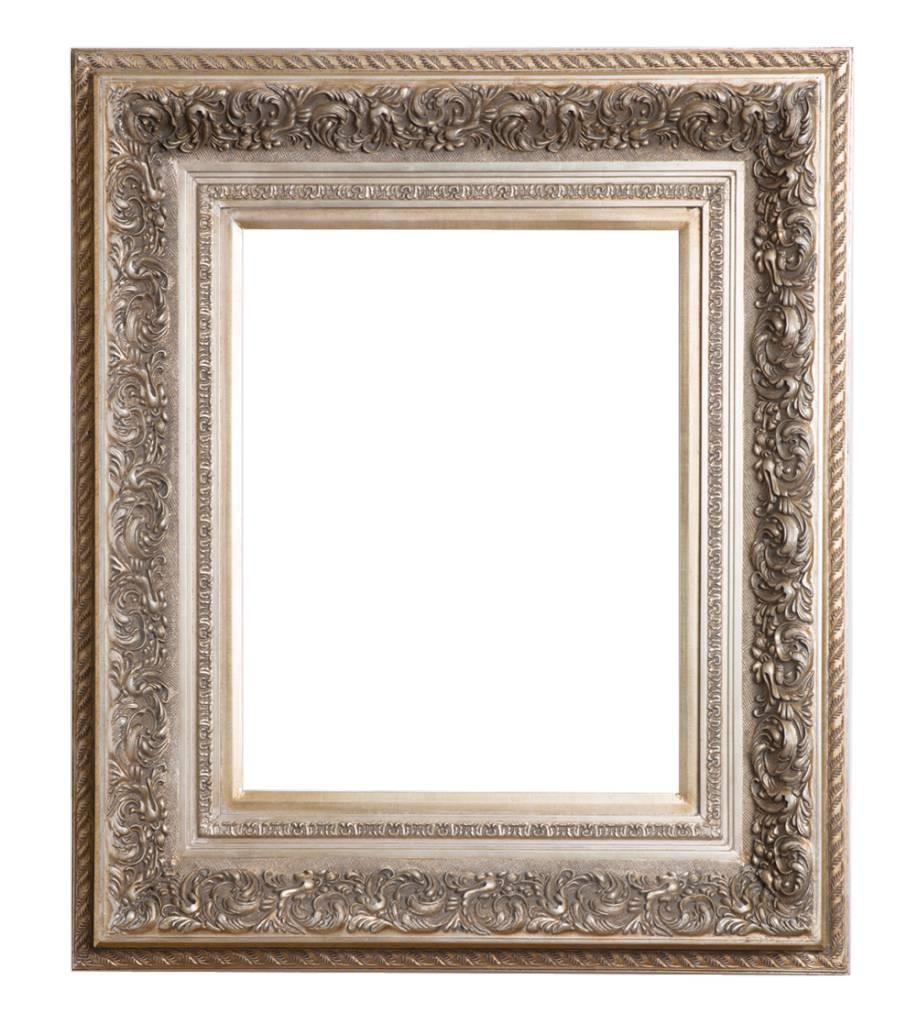 genova luxe barok lijst met windmotief licht zilver. Black Bedroom Furniture Sets. Home Design Ideas