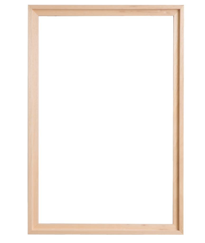 Montopoli - platte houten baklijst