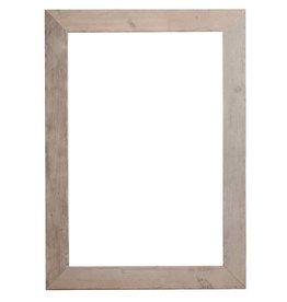 Wood - steigerhouten lijst (gebruikt en ongeschuurd)