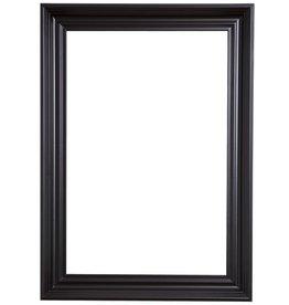 Brescia - sfeervolle zwarte moderne lijst
