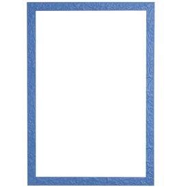 Metz - leuke blauwe lijst