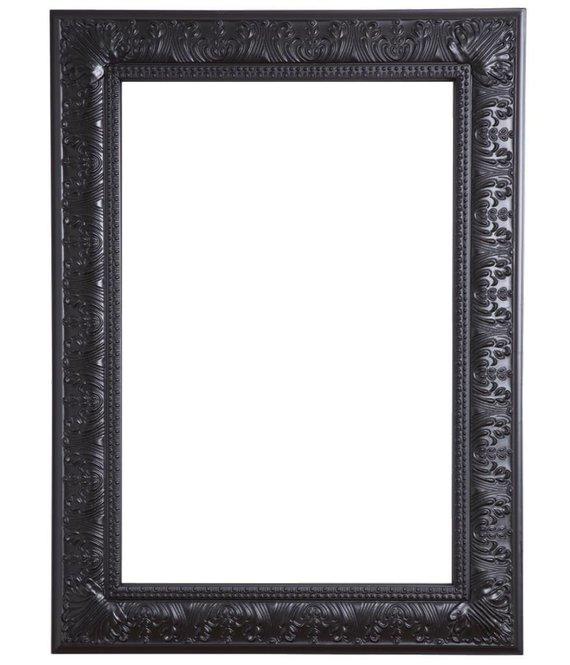 marbella barok zwarte lijst. Black Bedroom Furniture Sets. Home Design Ideas