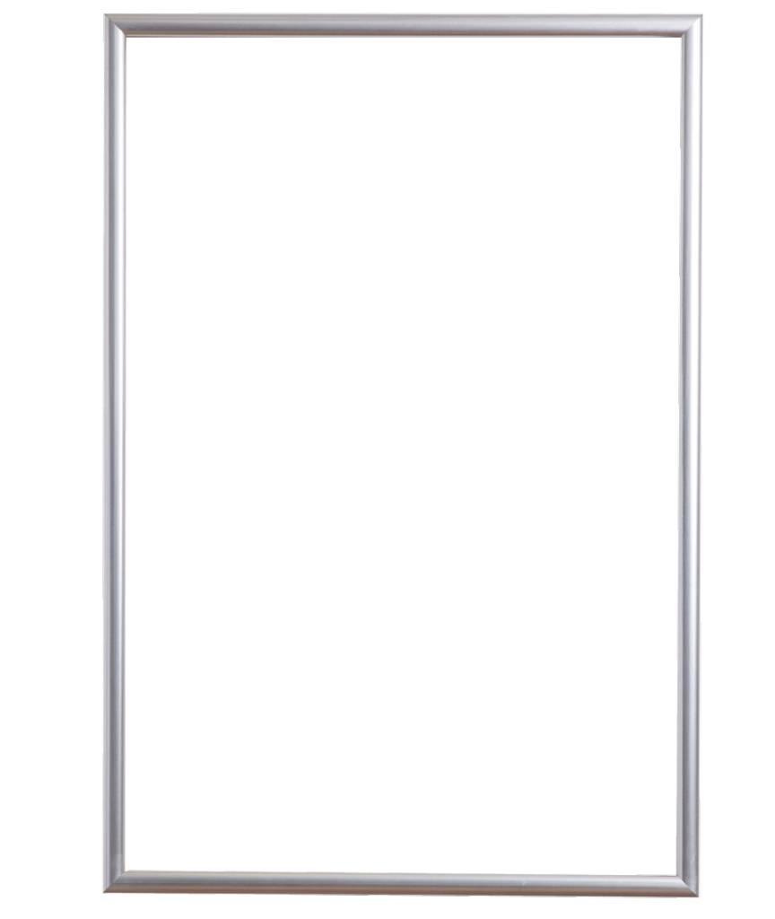 Torretta moderne zilveren lijst