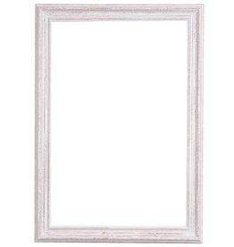 Bianco - witte houten lijst