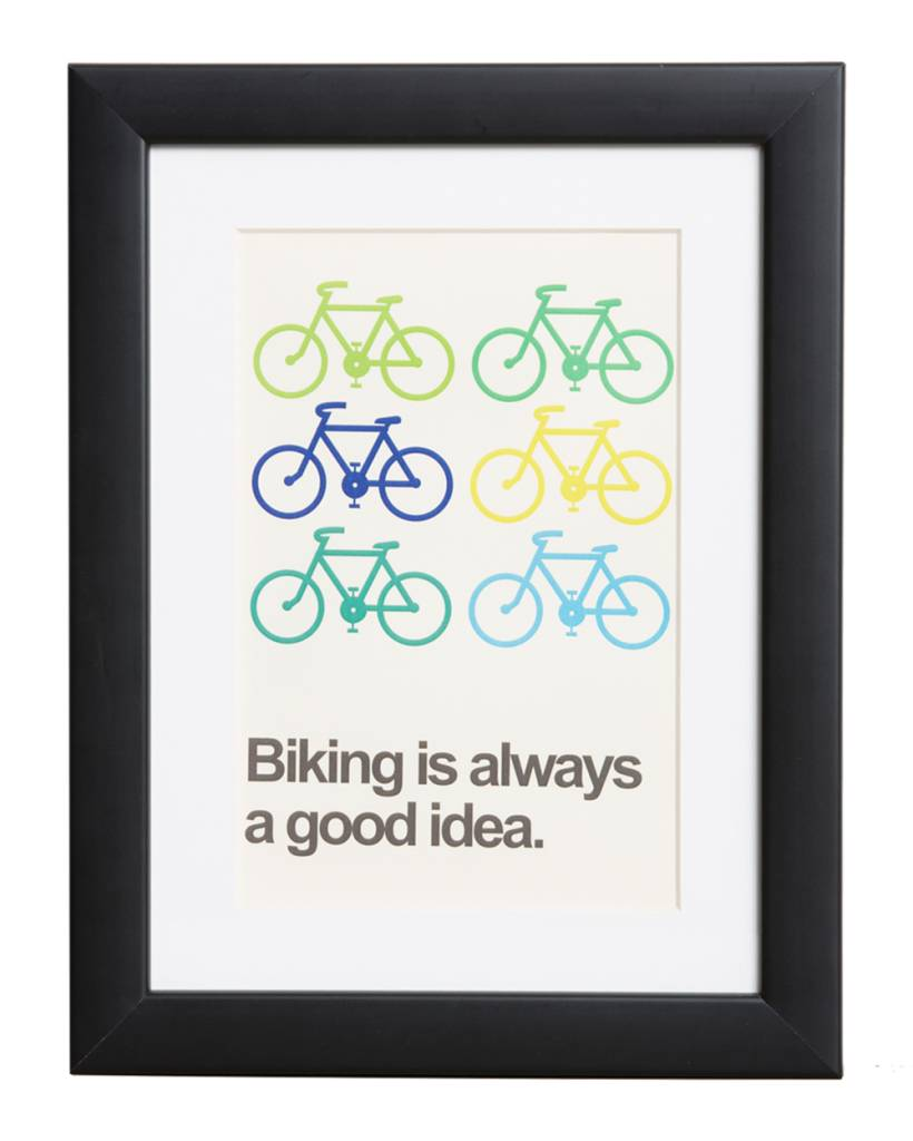 Biking is always a good idea