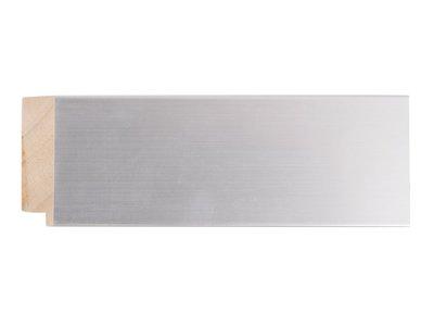 Bettola - Moderne Spiegel - Geborsteld Zilverkleurig Frame