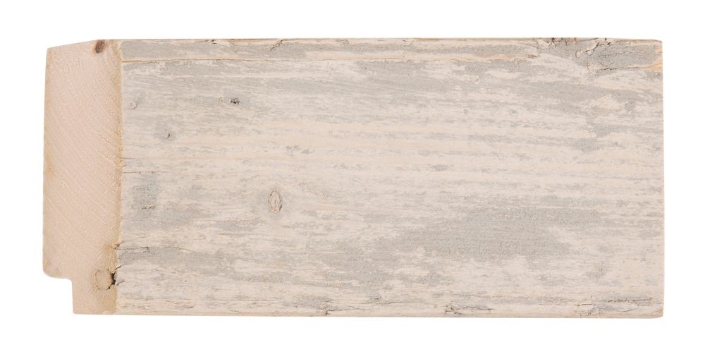 Wood - spiegel - ongeschuurd steigerhout