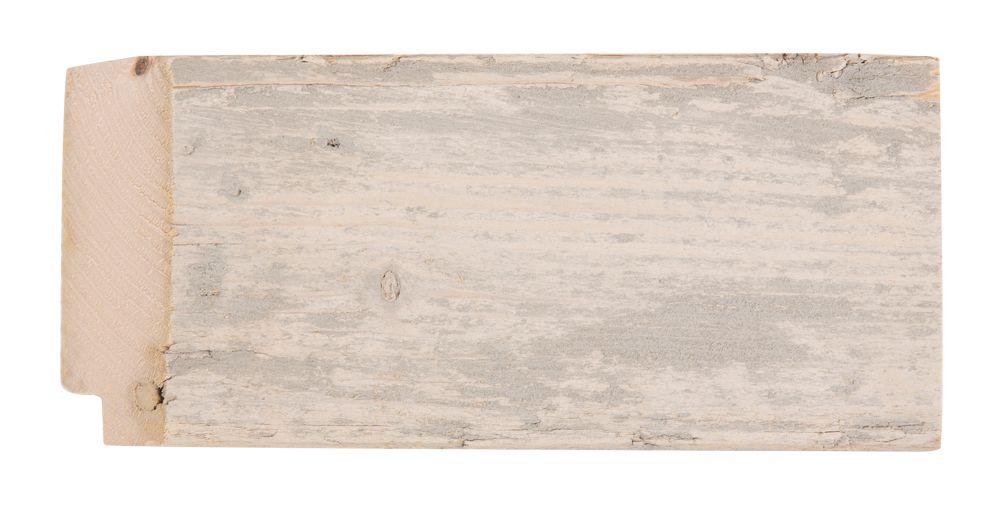 Wood - spiegel - steigerhout