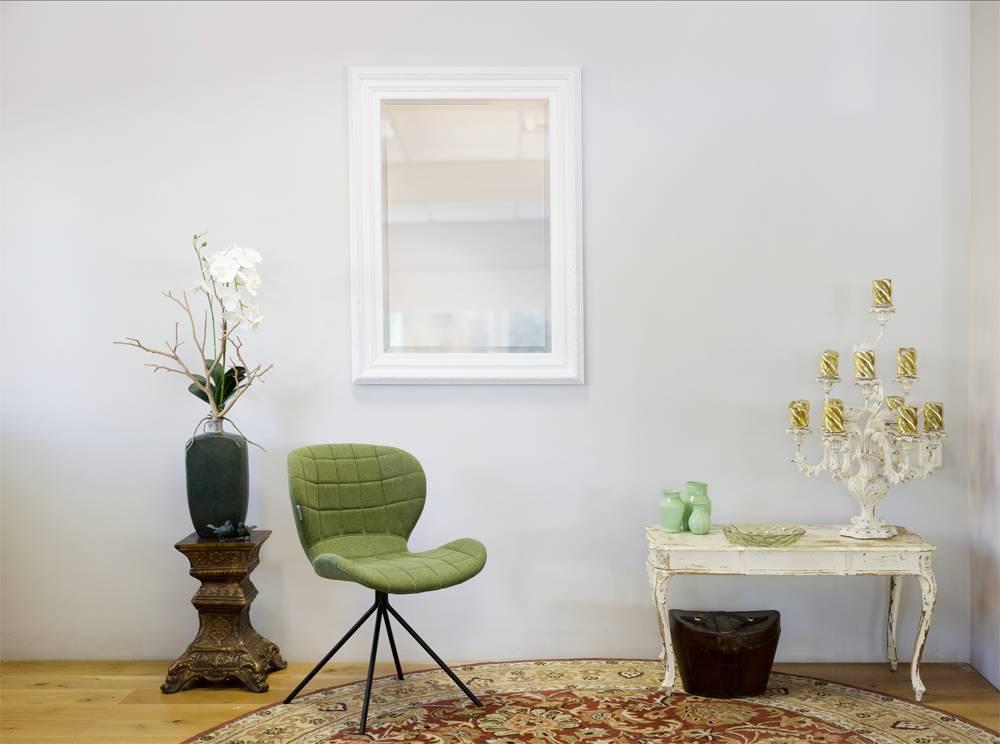 montepellier spiegel met witte lijst. Black Bedroom Furniture Sets. Home Design Ideas