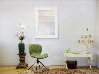 Savona - spiegel met barok witte lijst