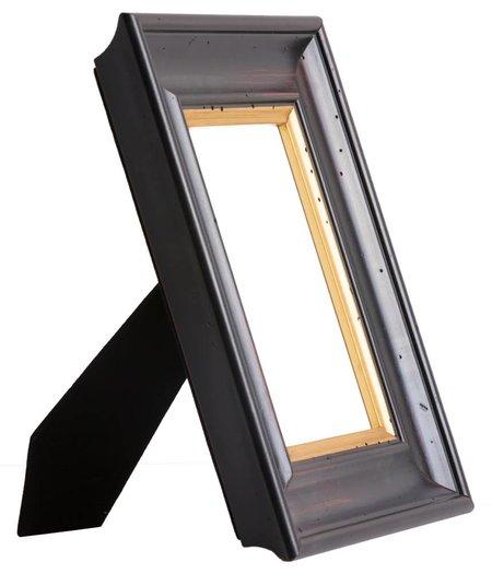Trapani - bruine fotolijst met gouden rand