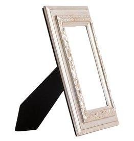 Lazzaro - Zilveren fotolijst van hout