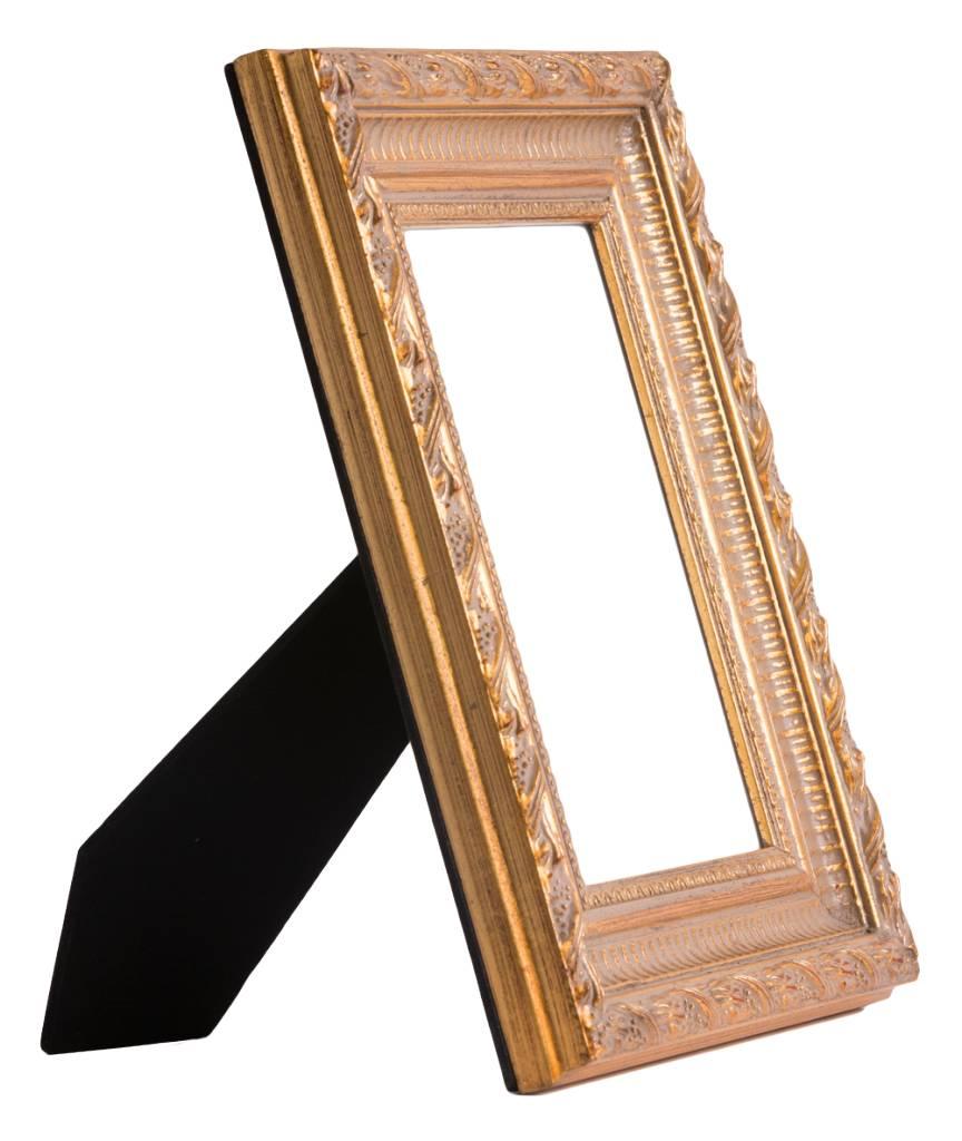 pozzallo barok gouden fotolijst kunstspiegel. Black Bedroom Furniture Sets. Home Design Ideas
