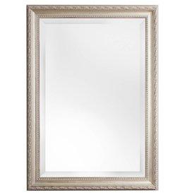 Palmi barok spiegel met facetrand zilveren frame for Grote zilveren spiegel