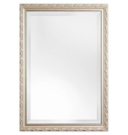 Bonalino betaalbare spiegel met barok zilveren lijst