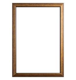Rieti - bruin gouden lijst