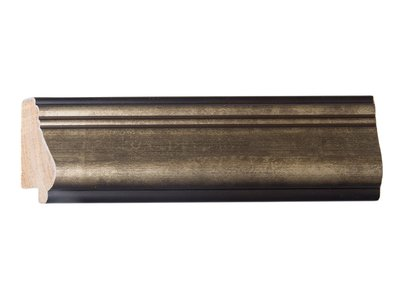 Rieti donker zilveren lijst