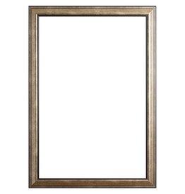 Rieti donker zilveren lijst van hout