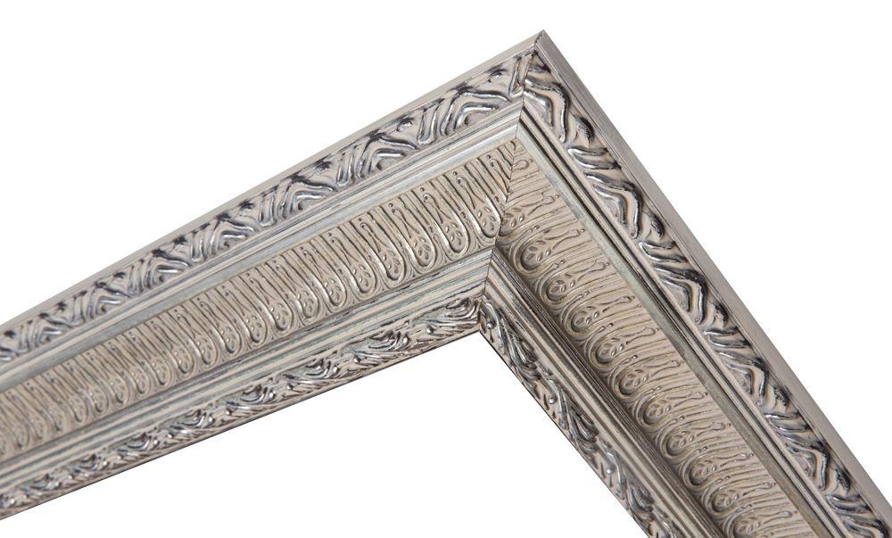 Nyons - Barok Ornamentlijst - Zilver Gekleurd