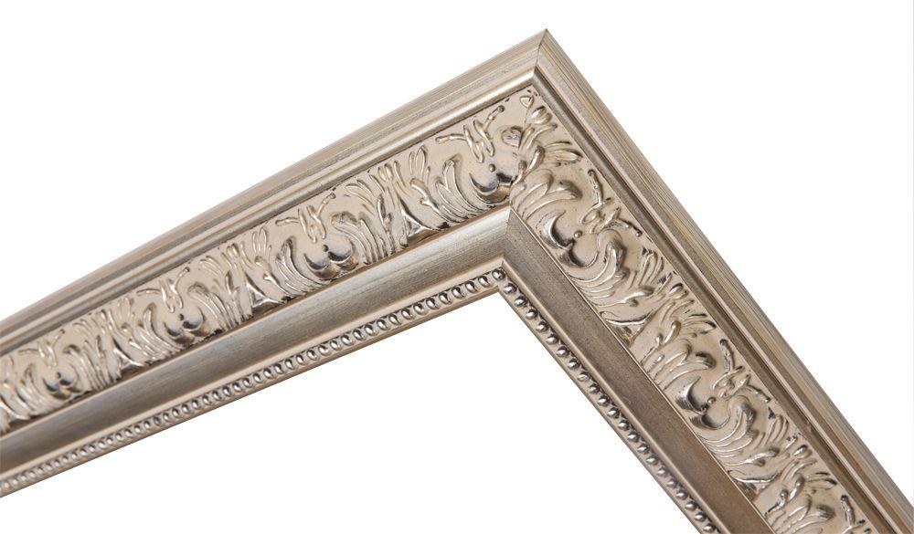 Palmi - Barok Lijst - Zilver Gekleurd Frame
