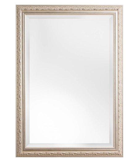 Nyons zilveren barok spiegel met ornament - Spiegel cm ...