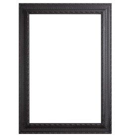 Nyons - barok zwarte lijst van hout