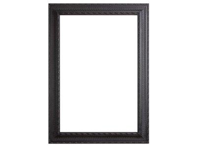 Nyons barok zwarte lijst van hout