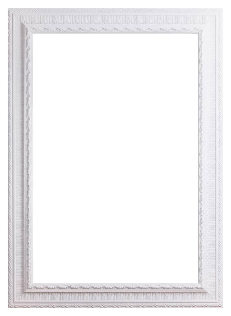 Nyons - Barok Ornamentlijst - Wit Gekleurd