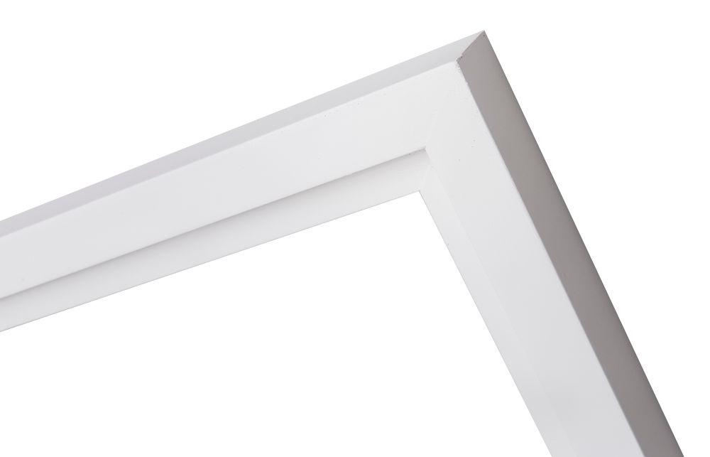 Pisa stijlvolle brede witte baklijst