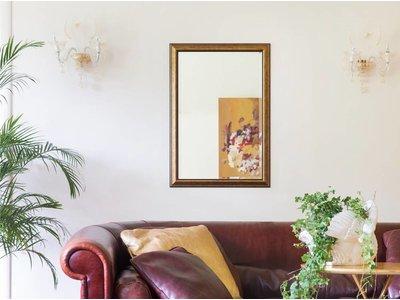Rieti - spiegel met bruin gouden lijst