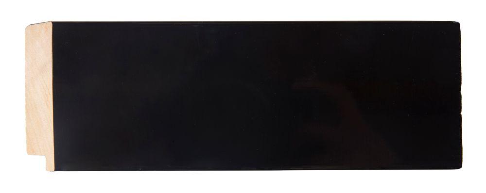 Torino moderne zwarte lijst