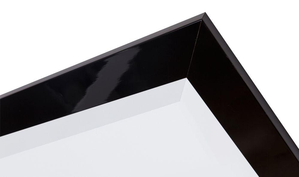 Torino - spiegel - zwart