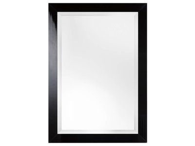 Torino - moderne zwarte spiegel