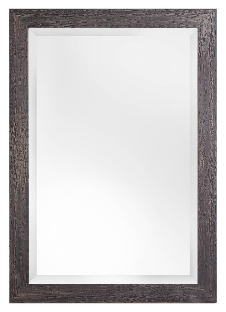 Bastia - spiegel met houten zwarte lijst