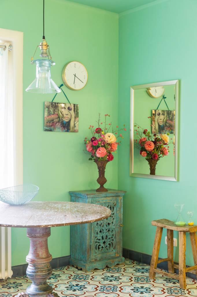 corte design spiegel in champagne kleur kunstspiegel. Black Bedroom Furniture Sets. Home Design Ideas