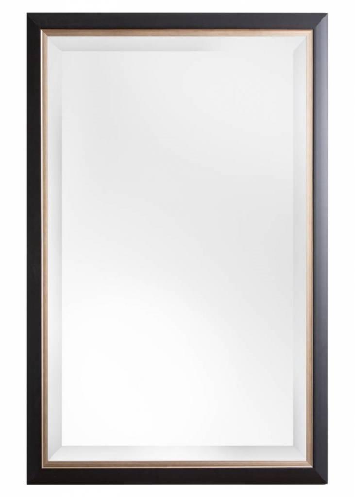 Firenze - spiegel - zwart/champagne