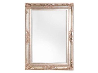 Nice - sfeervolle spiegel met barok zilveren lijst