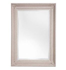 Bari - sfeervolle spiegel met (gebroken) witte lijst