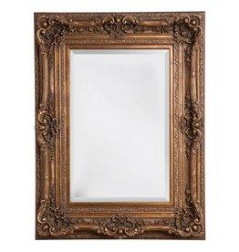 Monaco - facet spiegel met barok gouden lijst