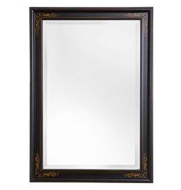 Sevilla - spiegel met unieke zwarte lijst