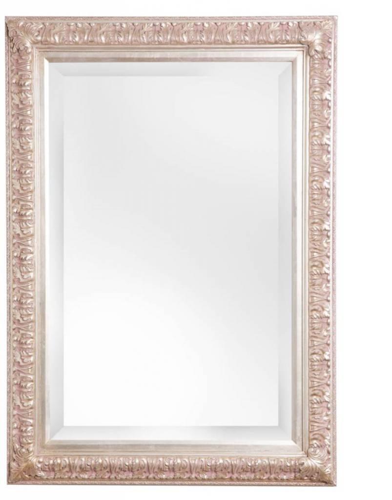 Zaragoza spiegel met barok zilveren lijst for Barok spiegel