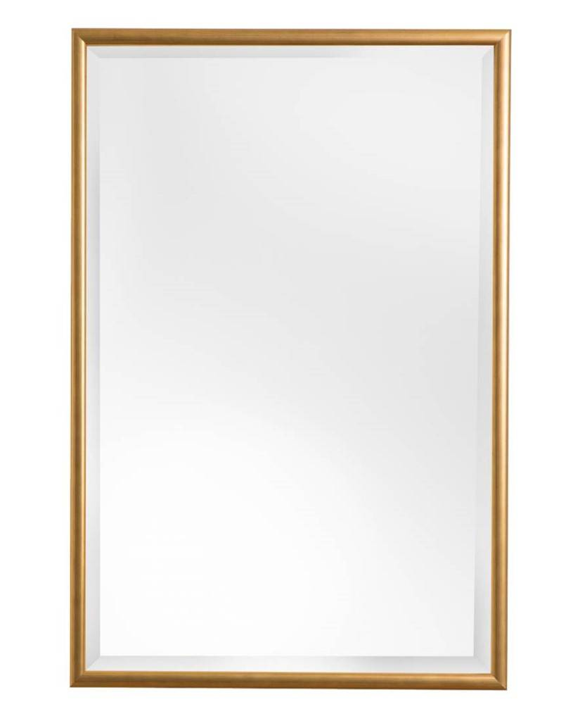 Biella spiegel met gouden lijst - Spiegel x ...