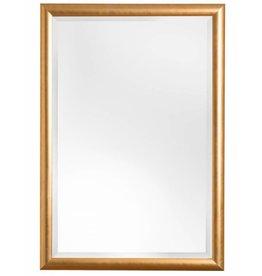 Mazzarino - spiegel met Italiaanse moderne gouden lijst