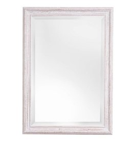 Bianco - spiegel met witte houten lijst