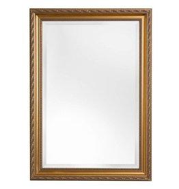 Pizzo - Bescheiden Italiaanse Barok Spiegel - Goud Gekleurd Frame
