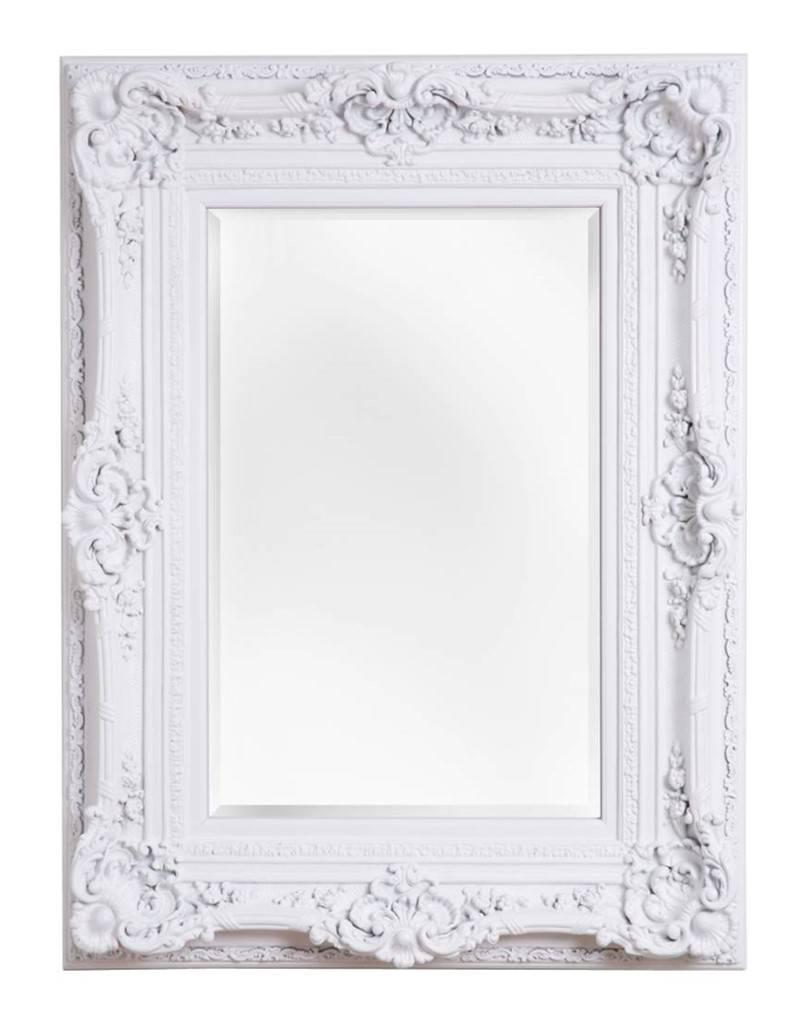 Grote spiegel steigerhout wit beste inspiratie voor huis ontwerp - Grote spiegel kleefstof ...