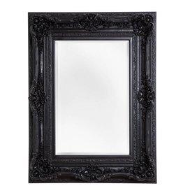 Palermo spiegel met barok zwarte lijst for Spiegel zwarte lijst